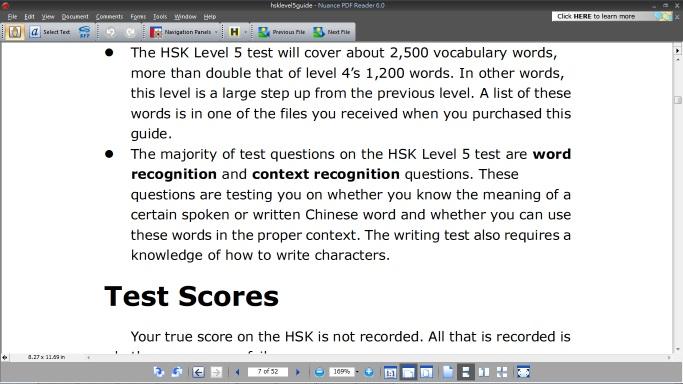 hsk level 5