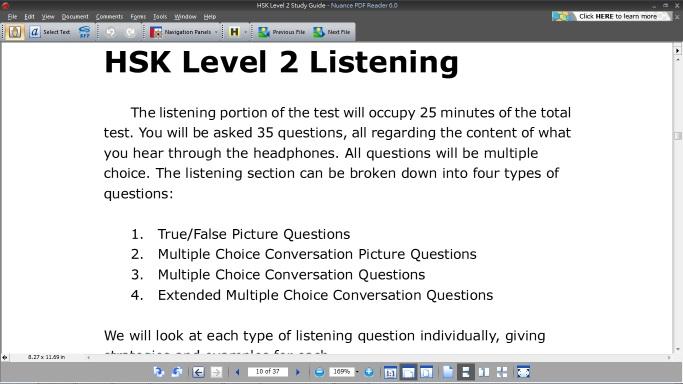 hsk level 2 basics