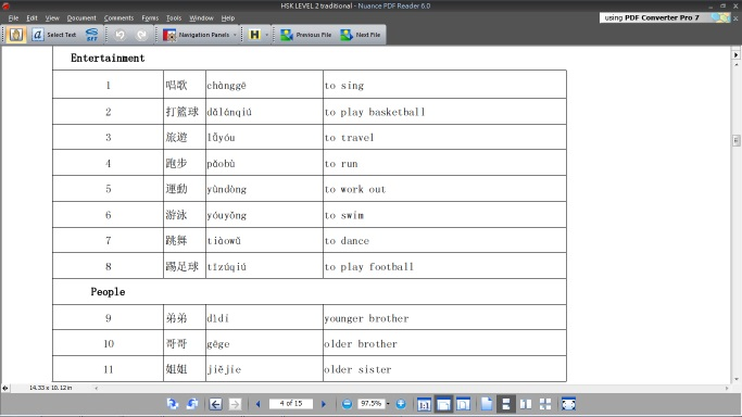 hsk 2 vocabulary