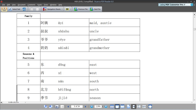hsk 3 vocabulary